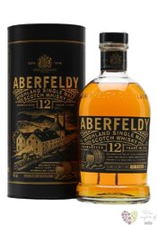 "Aberfeldy "" Limited release "" aged 12 years single malt Highlands whisky 40% vol.    1.00 l"