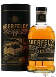 Aberfeldy 12 years old single malt Highlands whisky 40% vol.  0.70 l