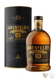 "Aberfeldy "" Limited release "" aged 18 years single malt Highlands whisky 40% vol.  1.00 l"