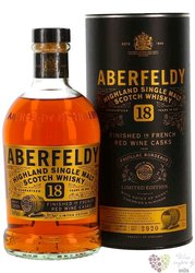 "Aberfeldy "" Pauillac red wine cask finish "" aged 18 years Highlands whisky 43% vol.  0.70 l"