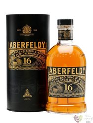 "Aberfeldy "" Limited release "" aged 16 years single malt Highlands whisky 40% vol.    0.70 l"