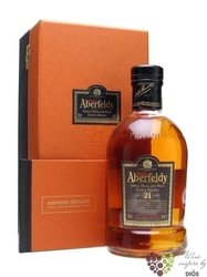 Aberfeldy 21 years old single malt Highlands whisky 40% vol.    0.70 l