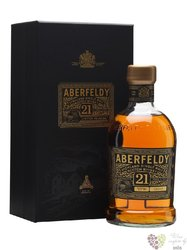 "Aberfeldy "" Limited release "" aged 21 years single malt Highlands whisky 40% vol.    0.70 l"