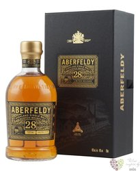 Aberfeldy 28 years old single malt Highlands whisky 40% vol.  0.70 l