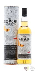 "Ardmore "" Legacy "" unchillfiltered single malt Highland whisky 40% vol.   0.70 l"