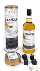 "Ardmore "" Legacy stones set "" unchillfiltered single malt Highland whisky 40% vol.   0.70 l"