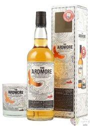 "Ardmore "" Legacy "" glass set single malt Highland whisky 40% vol. 0.70 l"