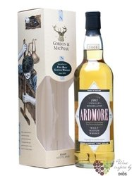 "Ardmore 1993 "" Distillery labels "" single Highland whisky by Gordon & MacPhail 43% vol.  0.70 l"