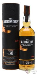 "Ardmore "" Limited editon of 1987 "" 30 years old single malt Highland whisky 47.2% vol.  0.70 l"