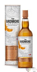 "Ardmore "" Traditional peated "" single malt Highland whisky 46% vol.  1.00 l"