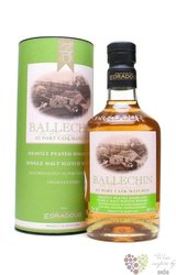 "Ballechin "" Port cask matured "" 4th Release of Highland whisky by Edradour 46% vol.    0.70 l"