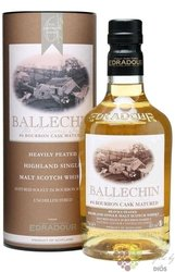"Ballechin "" Bourbon cask matured "" 6th release of Highland whisky by Edradour 46% vol.  0.70 l"