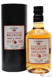 "Ballechin "" Double cask "" aged 8 years Highland whisky by Edradour 46% vol.  0.70 l"