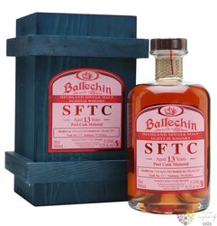 "Ballechin 2004 "" SFTC Burgundy cask "" aged 13 years Highland whisky 58.6% vol.0.50 l"