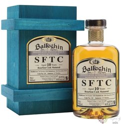 "Ballechin SFTC 2008 "" Bourbon cask "" aged 10 years Highland whisky 60.1% vol.0.50 l"