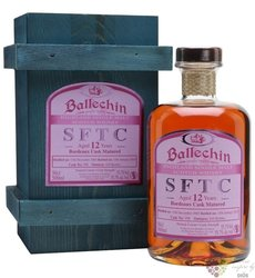 "Ballechin SFTC 2005 "" Bordeaux cask "" aged 12 years Highland whisky 55.7% vol.0.50 l"