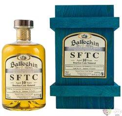 "Ballechin SFTC 2009 "" Bourbon cask "" aged 10 years Highland whisky 58.4% vol.  0.50 l"
