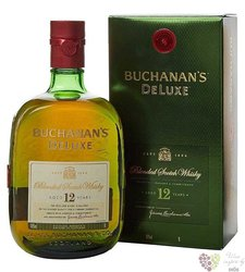 "Buchanans "" De Luxe "" aged 12 years premium blended Scotch whisky 43% vol.  0.70 l"