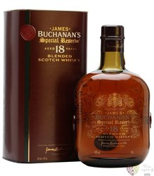 "Buchanans "" Special reserve "" 18 years old premium blended Scotch whisky 43% vol.  0.70 l"