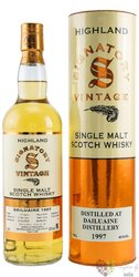 "Dailuaine 1997 "" Signatory UCF "" aged 14 years Speyside whisky 46% vol.  0.70 l"