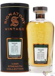 "Dailuaine 1997 "" Signatory Cask Strength "" aged 22 years Speyside whisky 46.1% vol.  0.70 l"