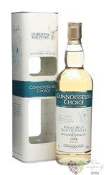 """Dailuaine 1998 """" Connoisseurs choice """" Speyside whisky by Gordon & MacPhail 46%vol.   0.70 l"""