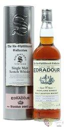 "Edradour 2007 "" Signatory Vintage UCF "" aged 10 years Highlands whisky 46% vol.0.70 l"