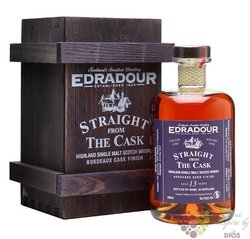 "Edradour 1998 "" Bordeaux wine cask "" aged 12 years Highland whisky 58.6% vol.  0.50 l"
