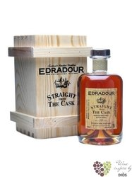 "Edradour 2000 "" Straight from the cask "" aged 10 years ingle malt Highland whisky 58.6% vol. 0.50 l"