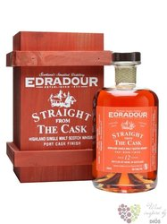 "Edradour 2000 "" Chadonnay cask finish "" aged 12 years Single malt Highland whisky 55.9% vol.  0.50 l"