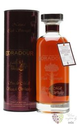 "Edradour 2002 "" Ibisco Sherry natural cask "" single malt Highland whisky 57.1% vol.  0.70 l"