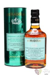 "Edradour 2003 "" Chardonay cask batch 3 "" single malt Highland whisky 46% vol.  0.70 l"