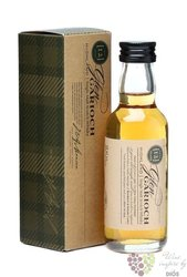 Glen Garioch 12 years old single malt Highland whisky 40% vol.    0.05 l