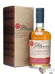 "Glen Garioch "" 1797 Founders reserve "" single malt Highland whisky 48% vol.  1.00 l"