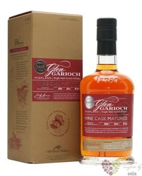 "Glen Garioch 1998 "" Wine cask "" aged 15 years single malt Highland whisky 48% vol.  0.70 l"