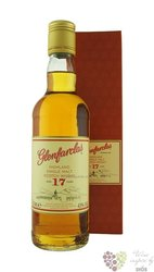 Glenfarclas 17 years old single malt Speyside whisky 43% vol.   0.35 l
