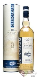"Glencadam "" Rather Delicate "" aged 10 years single malt Highland whisky 46% vol.     0.70 l"