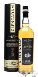 Glencadam 15 years old single malt Highland whisky 46% vol.  0.70 l