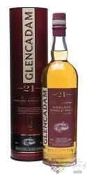 Glencadam 21 years old single malt Highland whisky 46% vol.   0.70 l