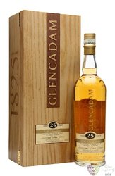 "Glencadam "" the Remarkable "" 25 years old single malt Highland whisky 46% vol.0.70 l"