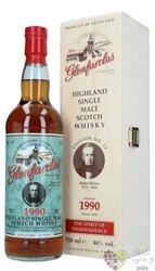 "Glenfarclas 1990 "" Edition N°24 Robert Brown "" Speyside whisky 46% vol.  0.70 l"
