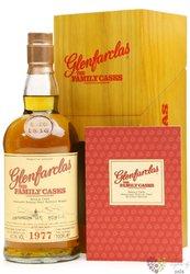 """Glenfarclas 1977 """" Familly cask """" Speyside whisky 43.6% vol.  0.70 l"""