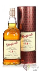 Glenfarclas 18 years old single malt Speyside whisky 43% vol.   1.00 l
