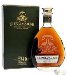Glenglassaugh 30 years old Single malt Speyside whisky 46% vol.    0.70 l