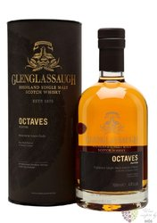 "Glenglassaugh "" Octaves peated "" single malt Highland whisky 44% vol.  0.70 l"