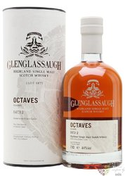 "Glenglassaugh "" Octaves Classic batch.II "" single malt Highland whisky 44% vol.0.70 l"