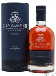 "Glenglassaugh "" Peated Port wood finish "" single malt Highland whisky 46% vol. 0.70 l"