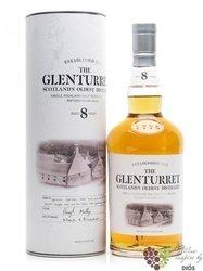 Glenturret 8 years old single malt Highland whisky 40% vol.     0.70 l