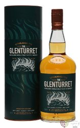 "Glenturret "" Peated edition "" single malt Highland whisky 40% vol.     0.70 l"