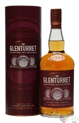 "Glenturret "" Sherry edition "" single malt Highland whisky 40% vol.     0.70 l"